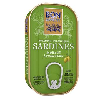 Sardīnes olīveļļā