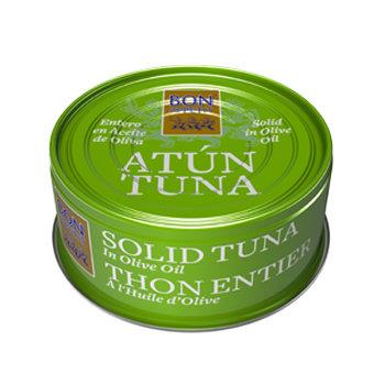 Tuncis olīveļļā 160 g BA