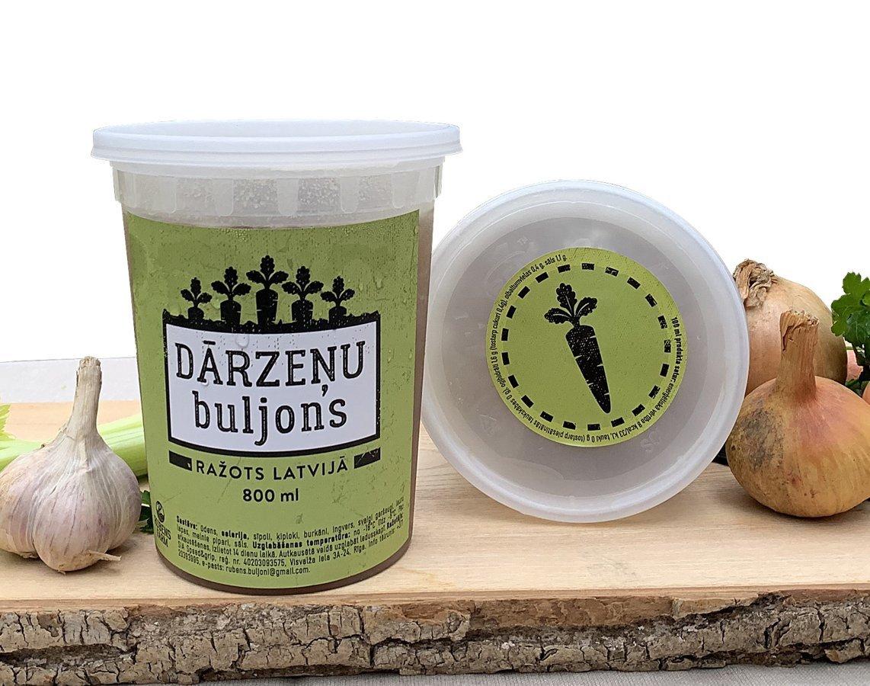 Dārzeņu buljons 800 ml (Izpārdots)