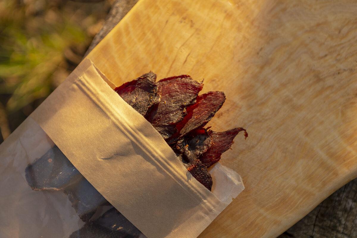 Kaltētas liellopa gaļas šķēles, 50g, klasiskie 3x