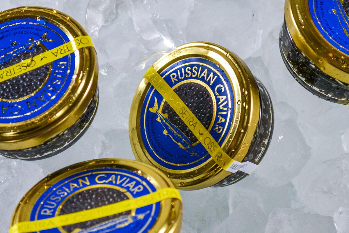 Mottra Russian stores melnie ikri (Acipenser Baerii) 90g