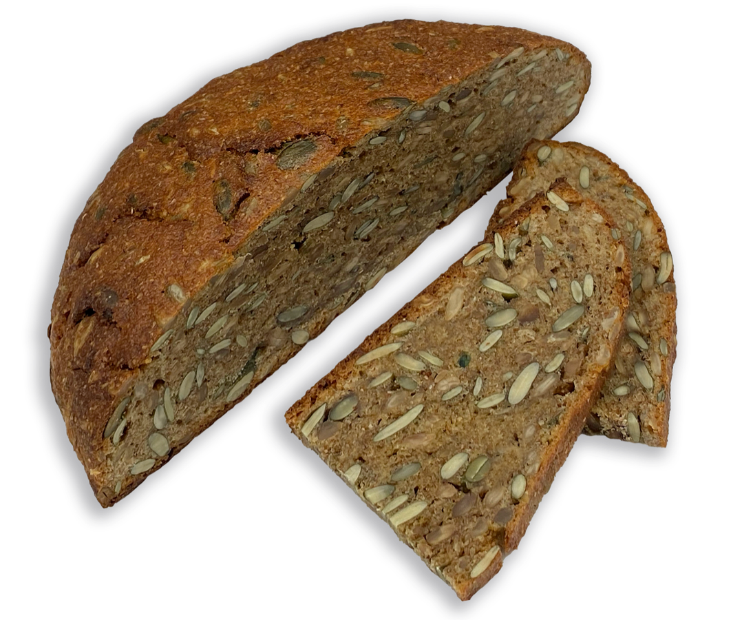Rudzu sēklu maize 650 gr
