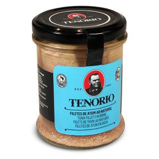 Tunča fileja savā sulā (stikla traukā) TENORIO