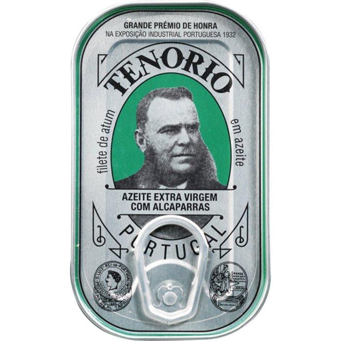 Tunča fileja olīveļļā ar kaperiem 120 g, TENORIO