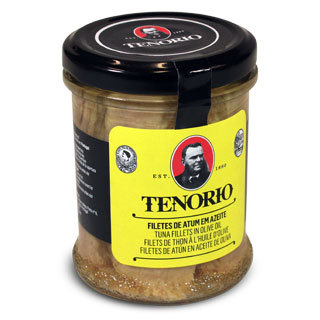 Tunča fileja olīveļļā (stikla traukā) TENORIO