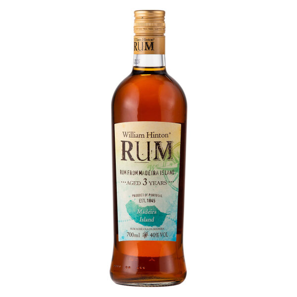 Rums William Hinton Rum Madeira 3yrs 70cl 40%