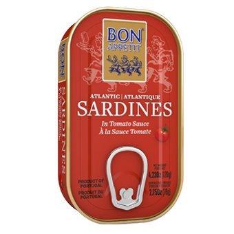 Sardīnes tomātu mērcē