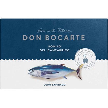 Baltais tuncis Bonito del Norte olīveļļā, 160gr
