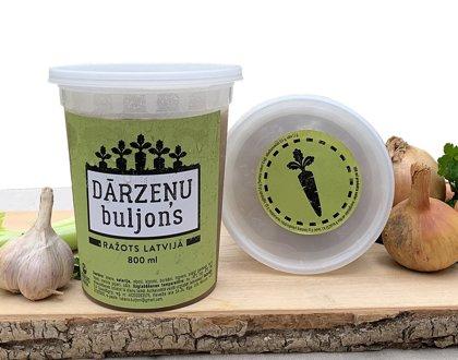 Dārzeņu buljons 800 ml