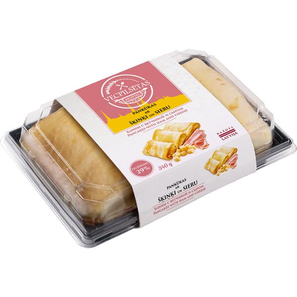 Pankūkas ar sieru un šķinķi 340g