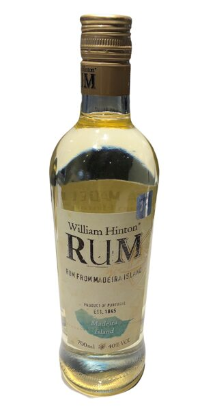 Rums William Hinton Rum Madeira 9 months 70cl 40%