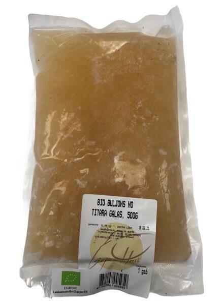 Sējas tītars bio, buljons 500g