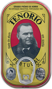 Tunča fileja olīveļļā, 120 g, TENORIO