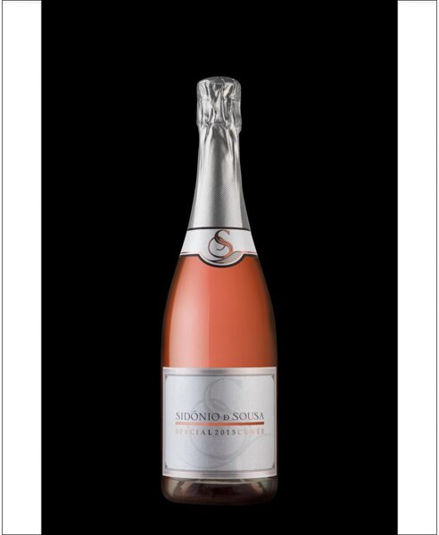 Dzirkstošais rozā vīns Sidonio de Sousa Special Cuvee Rose 75cl 12,5%